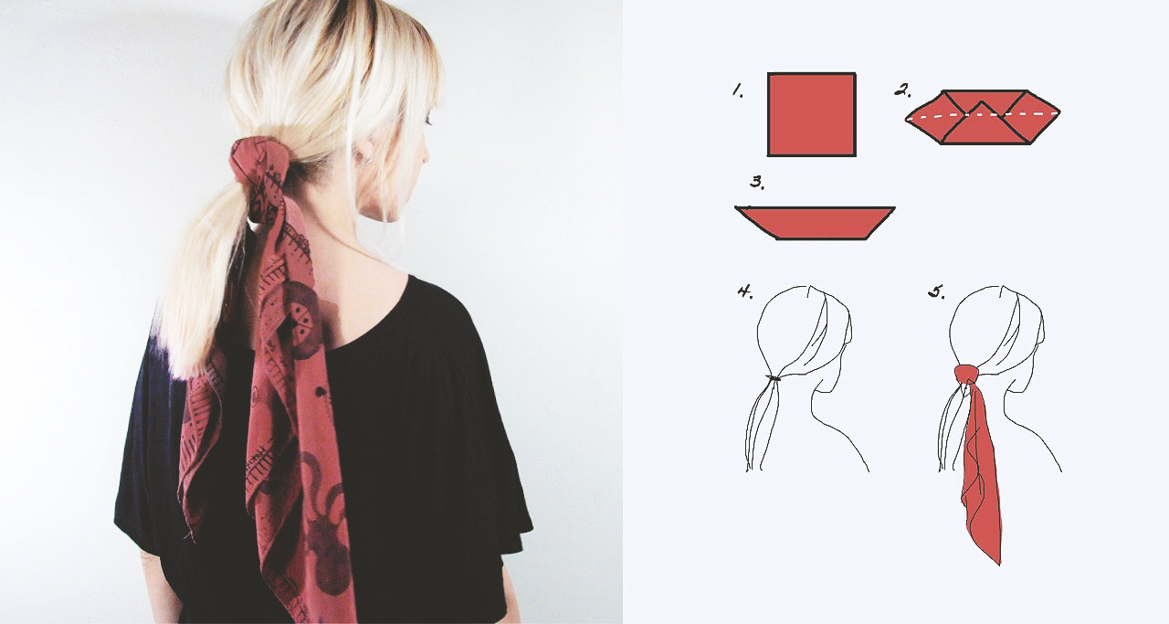 6 Simple Ways To Wear Head Scarf Rannka