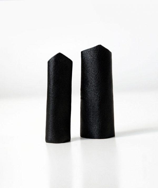 rannka-black-long-pointy-ring-unisex