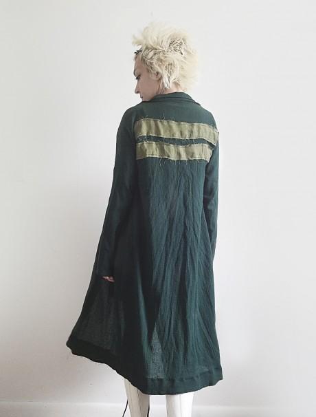 Hunter Green Light Long Jacket