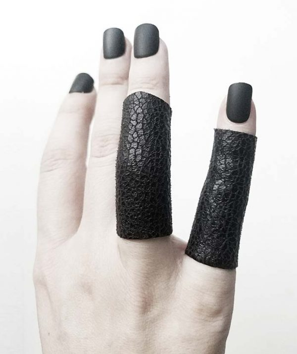 rannka-long-slate-vegan-leather-unisex-rings