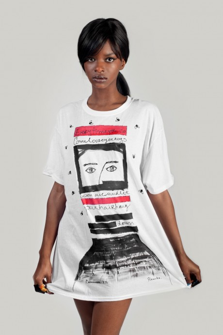 Ship song oversize t-shirt