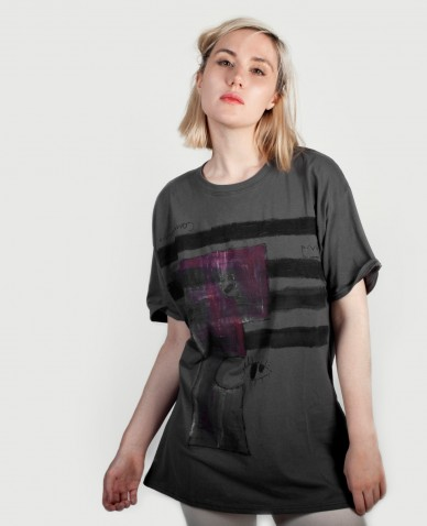 Iron grey oversize t-shirt