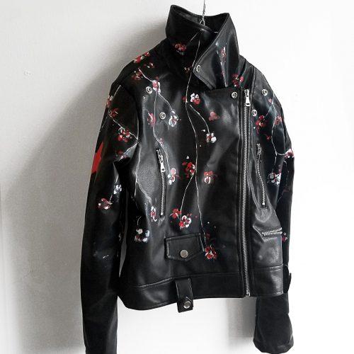 14 Henry Lee hand painted black jacket