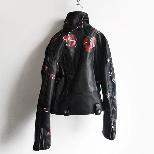 15 Henry Lee hand painted black jacket