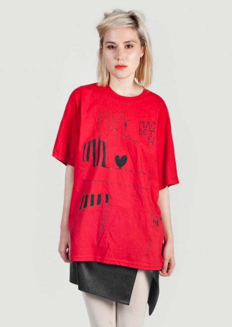 Macbeth oversize t-shirt