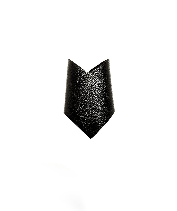 arrow-ring-rannka-black-vegan-leather-unisex-ring