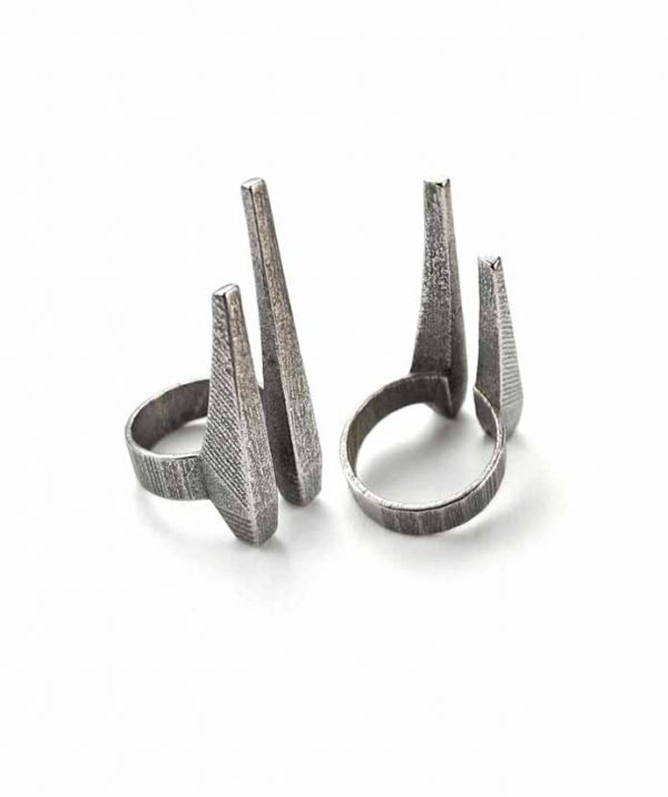 rannka-unises-silver-steel-durable-pointy-long-tusks-ring