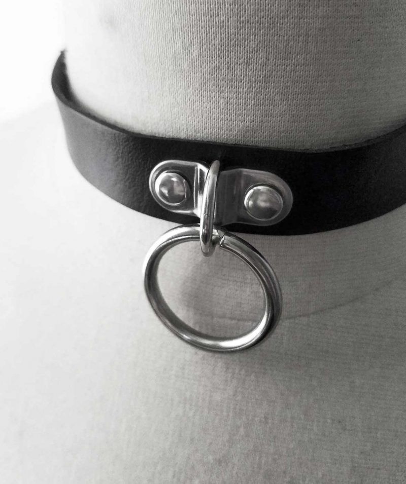 double-ring-rannka-tammed-black-choker-necklace