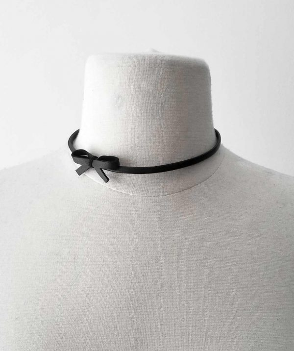 rannka-black-mini-choker-necklace-bow-necklace-in-black