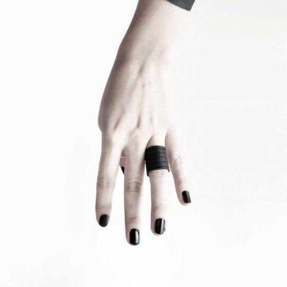 danu-ring-rannka-vegan-leather-armor-jewelry