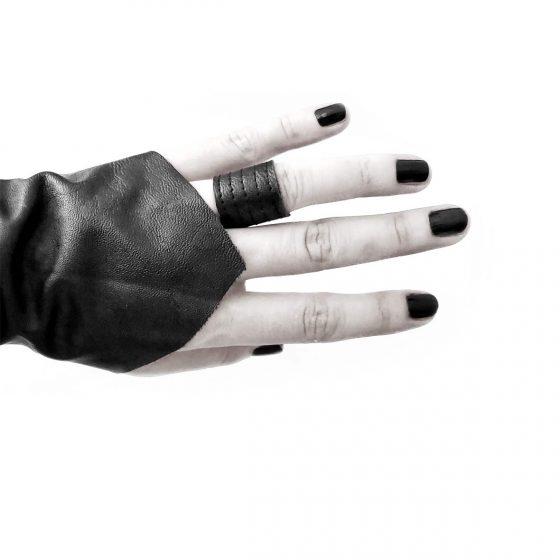danu-ring-tall-guardian-cuff-rannka-armor-jewelry-vegan-leather