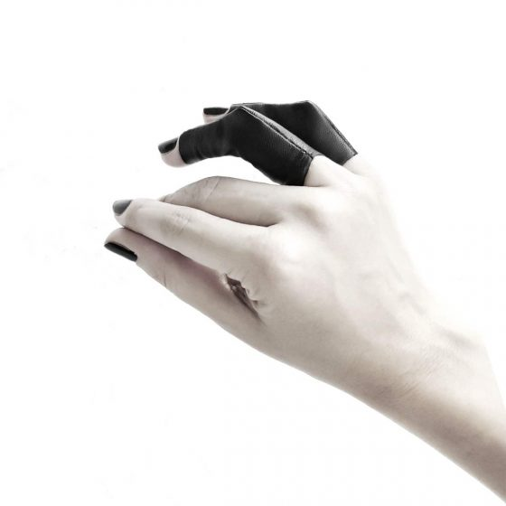 rannka-vulture-long-black-leather-unisex-ring
