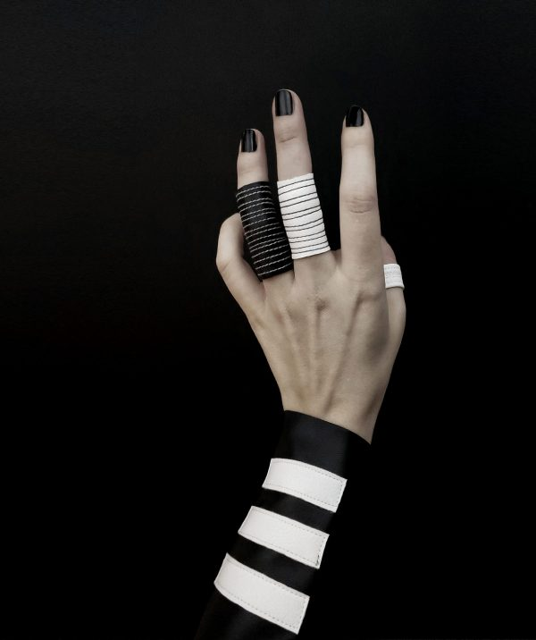 rannka-black-and-white-jewelry-vegan-leather