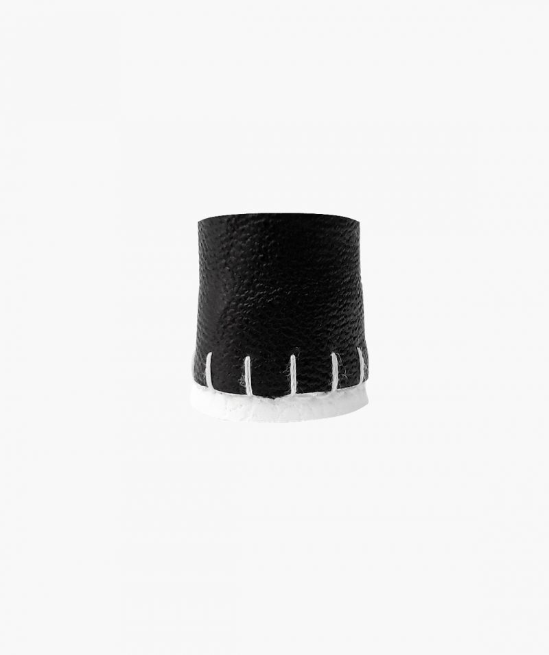 rannka-rima-ring-black-and-white-vegan-leather-ring-band