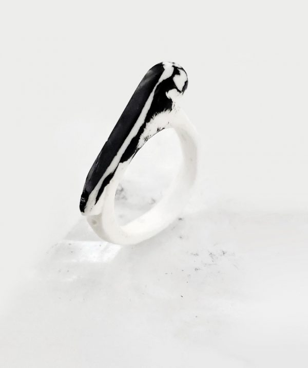 urban-art-modern-stacking-black-white-rings-contemporary-art-jewelry-rannka