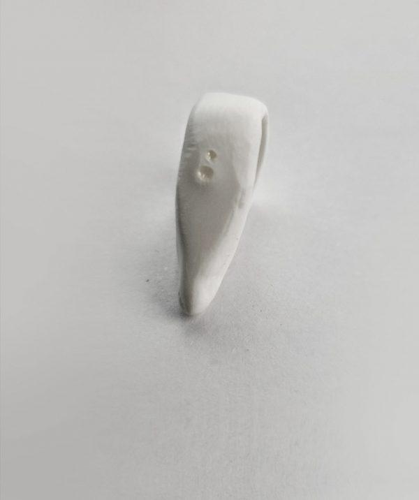 white-stacking-ring-romantic-organic-shape-weading-non-metal-rings
