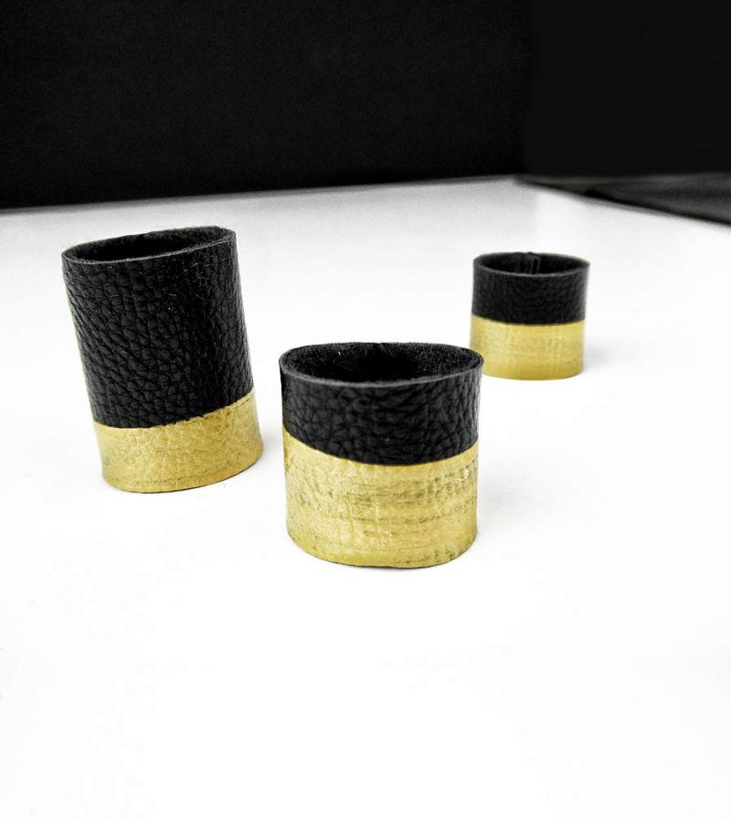 black-gold-rings-rannka-rex-collection