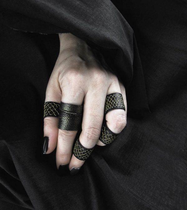 gold-black-rings-rannka-rex-jewelry-collection-rannka