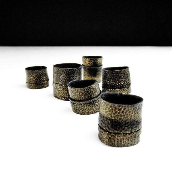 textured-matte-gold-rannka-unisex-rings-rex-collection