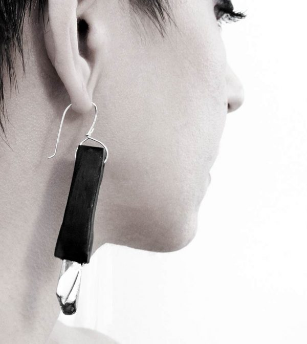 13–rannka-FABRIKA-earrings-loong-black-sterling-silver-and-silver-quarc-artisan-earring-jewelry-a