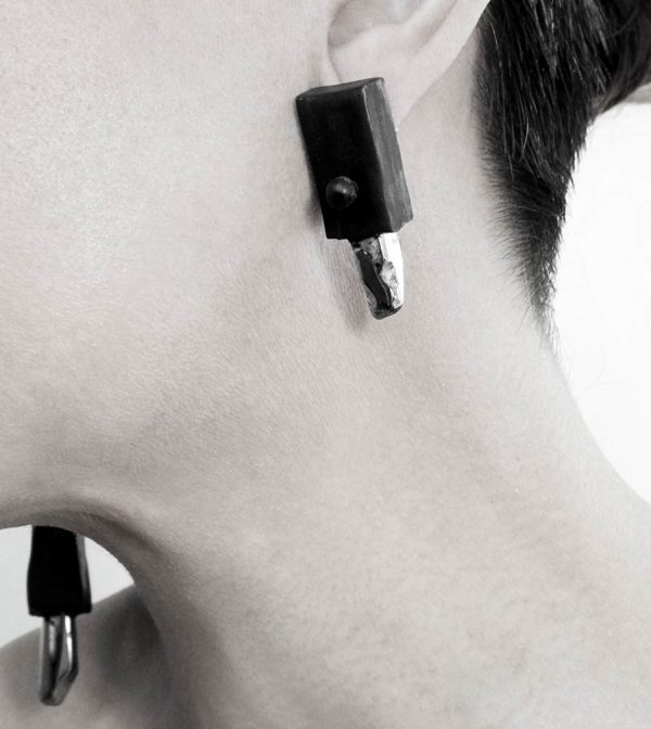 13–rannka-FABRIKA-earrings-loong-black-sterling-silver-and-silver-quarc-artisan-earring-jewelry-c