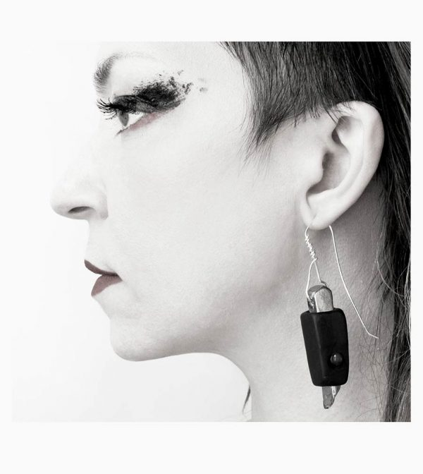 2-rannka-FABRIKA-earrings-loong-black-sterling-silver-and-silver-quarc-artisan-earring-jewelry-b