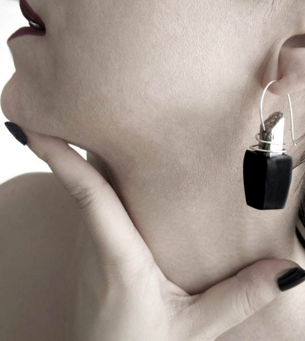 26–rannka-FABRIKA-earrings-loong-black-sterling-silver-and-silver-quarc-artisan-earring-jewelry-c