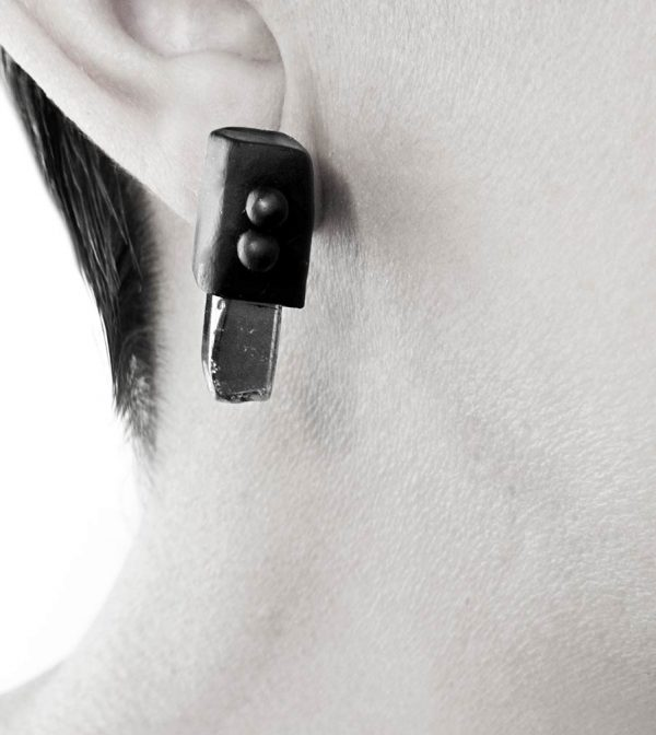 8–rannka-FABRIKA-earrings-loong-black-sterling-silver-and-silver-quarc-artisan-earring-jewelry-d