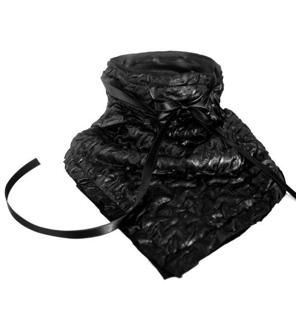 Black Ruche Bandana – Rannka Echo 3