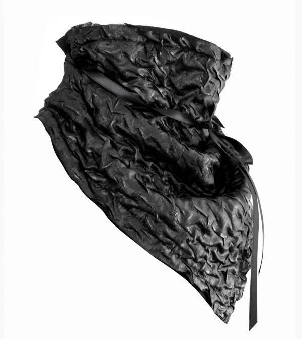Black Ruche Bandana – Rannka Echo 6