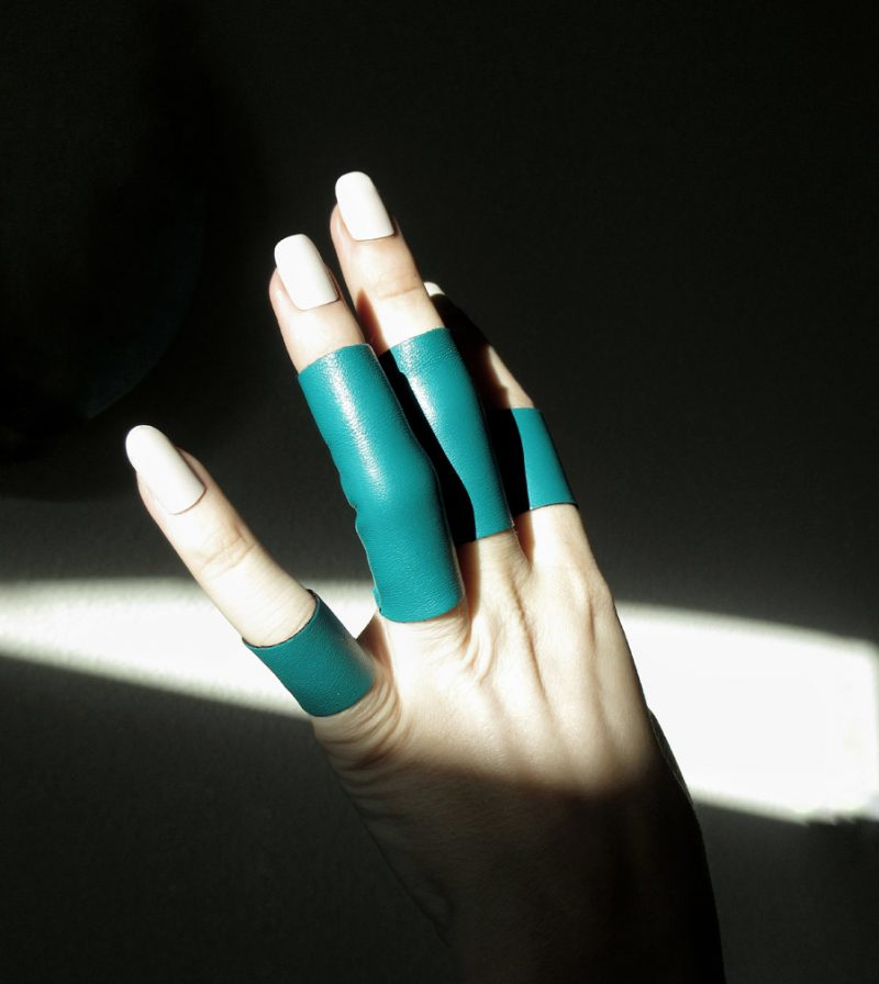 rannka teal rings echo collection 2