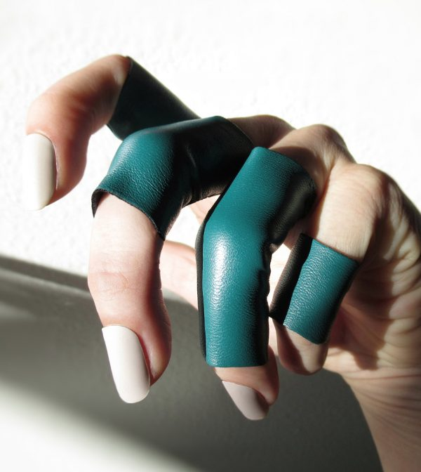 rannka teal rings echo collection 4