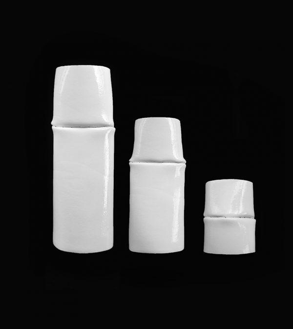 LadySheba-Rannka-White-PVC-Twin-Rings-in-3-lenghts