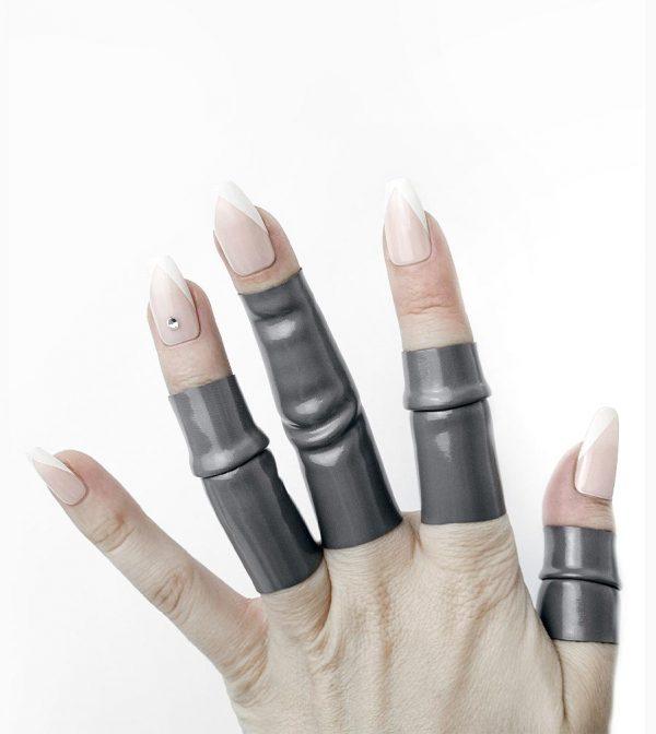 Rannka-Rock-Star-Rannka-Muse-Alexa-in-Grey-Pvc-Rings-5