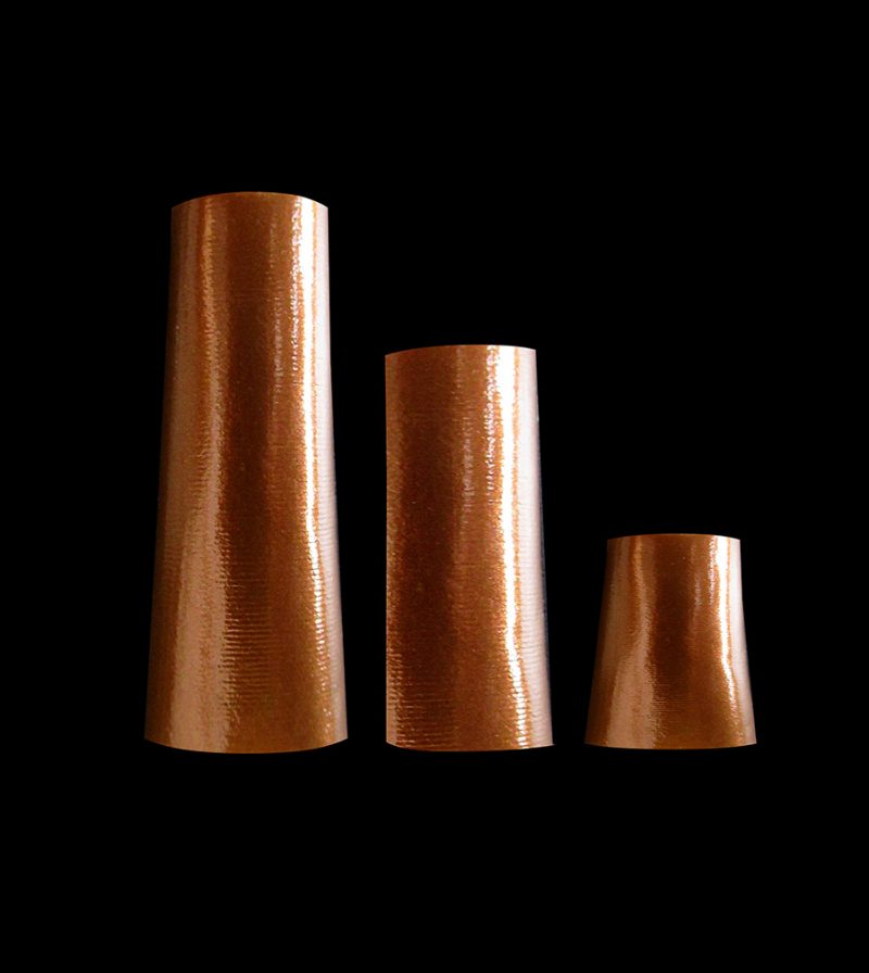 Rannka-Rock-Star-Rannka-Muse-Hex-Des-in-Bronze-Color-Pvc-Rings-3-lenghts