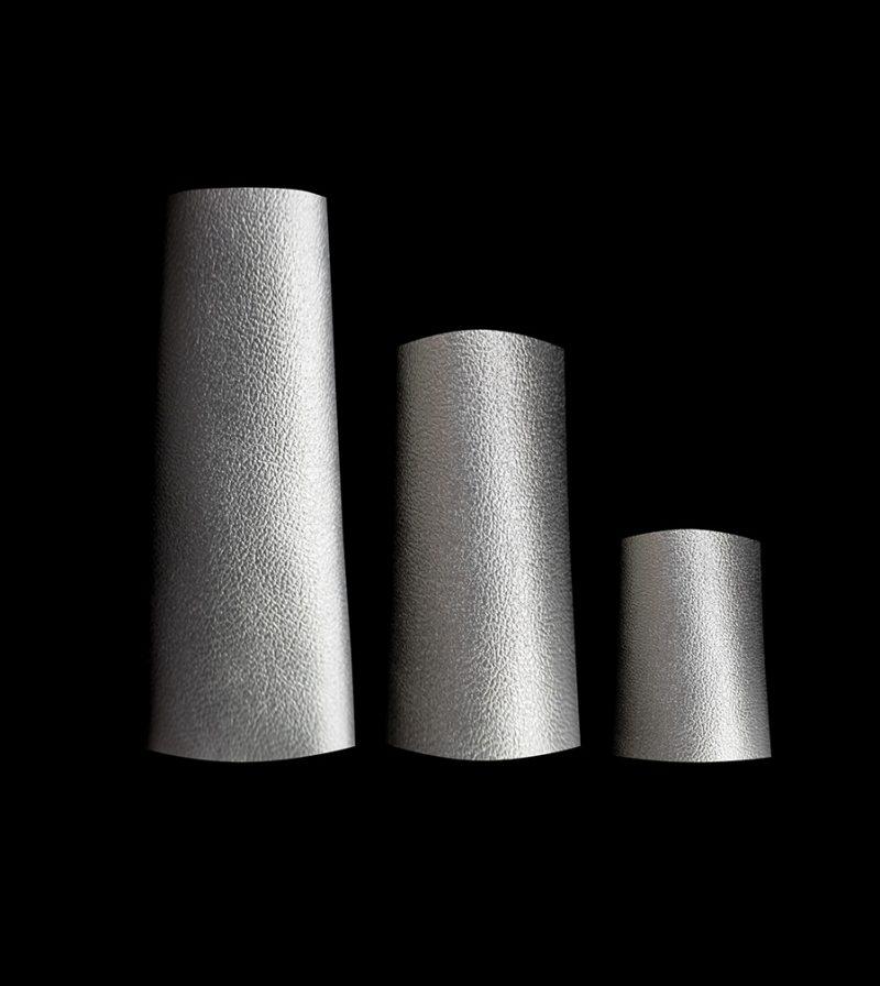 Rannka-Rock-Star-Rannka-Muse-Tanya-in-Silver-Pvc-Rings-in-3-lenghts