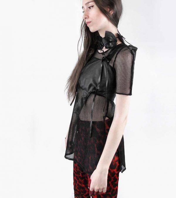 black-knit-chainmail-square-shoulder-unisex–tee-rannka